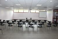 Fotografía de una sala de reuniones
