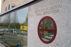 Fotografía de la entrada a las instalaciones generales
